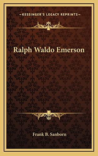 9781163420683: Ralph Waldo Emerson
