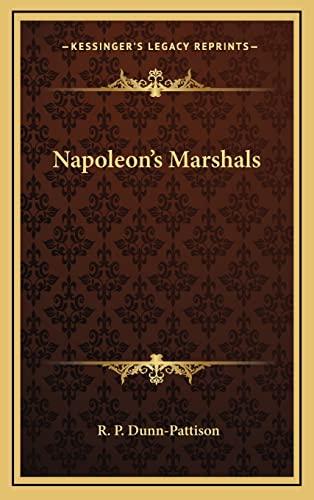 9781163427347: Napoleon's Marshals