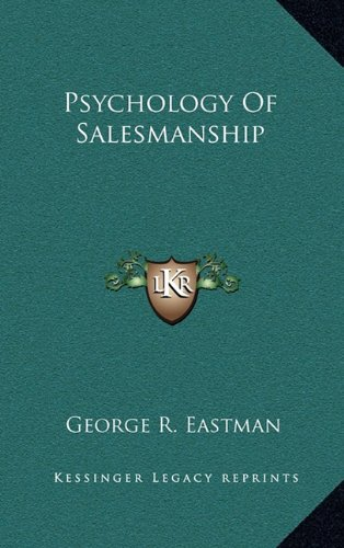 9781163429822: Psychology Of Salesmanship
