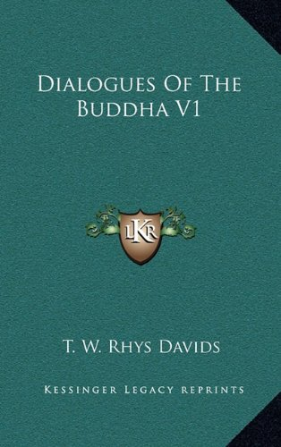 9781163432426: Dialogues of the Buddha V1