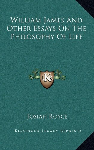 9781163434918: William James And Other Essays On The Philosophy Of Life