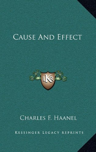 9781163442487: Cause And Effect