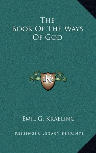 9781163453407: The Book Of The Ways Of God