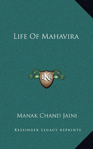 9781163456859: Life of Mahavira