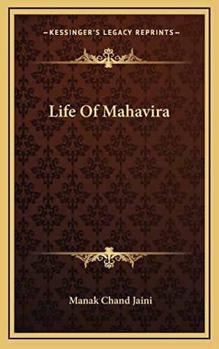 9781163456859: Life Of Mahavira