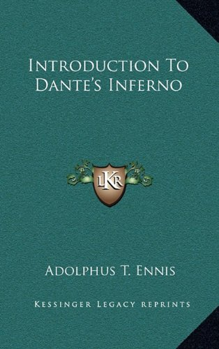 9781163464113: Introduction To Dante's Inferno