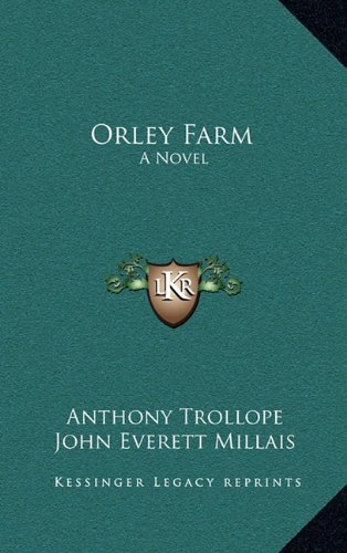 9781163466049: Orley Farm: A Novel