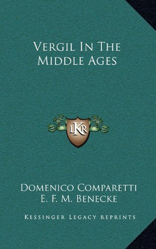 9781163476819: Vergil in the Middle Ages