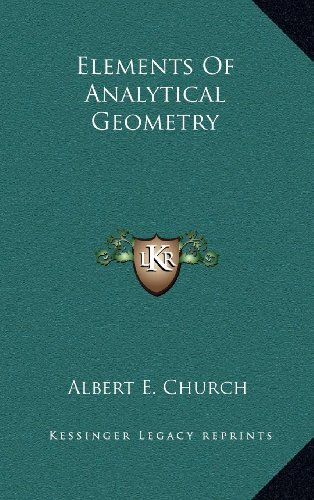 9781163493915: Elements Of Analytical Geometry