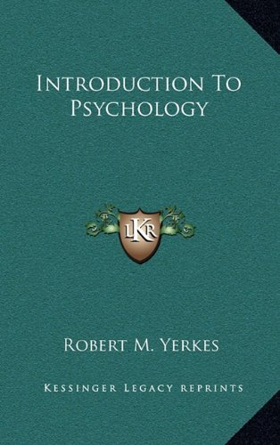 9781163503317: Introduction to Psychology