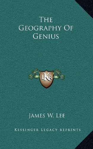 9781163521892: The Geography Of Genius