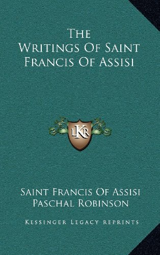 9781163538586: The Writings Of Saint Francis Of Assisi