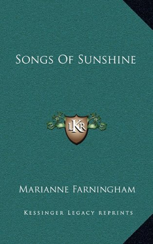 9781163544808: Songs of Sunshine