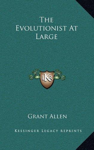 9781163546086: Evolutionist At Large