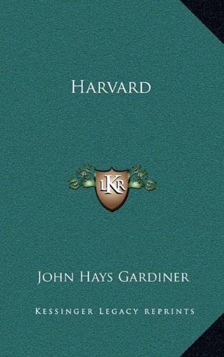9781163553435: Harvard