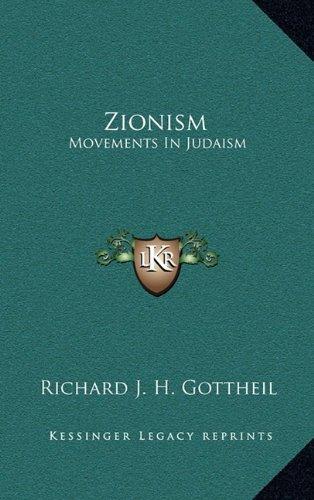 9781163555835: Zionism: Movements In Judaism
