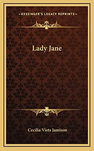 9781163561621: Lady Jane
