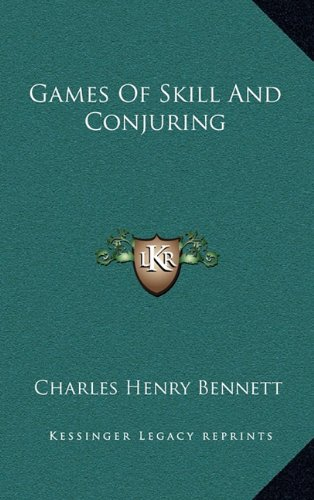 9781163568323: Games Of Skill And Conjuring