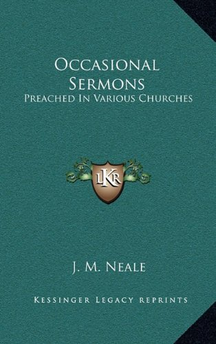 9781163660355: Occasional Sermons: Preached in Various Churches