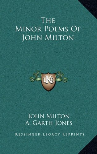 9781163660638: The Minor Poems Of John Milton