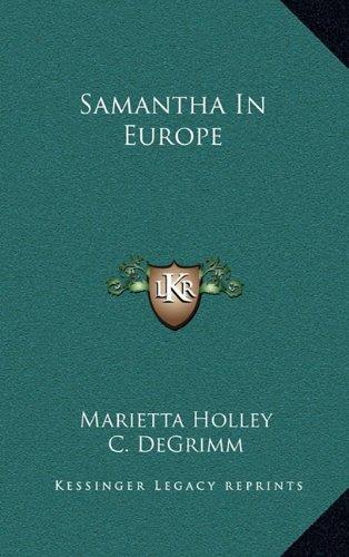 9781163664605: Samantha In Europe