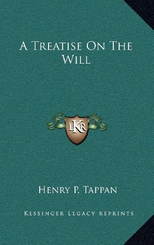 9781163693179: A Treatise On The Will