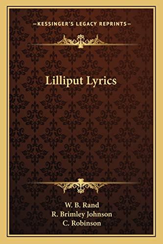 Lilliput Lyrics: W. B. Rand