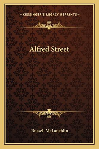 9781163804865: Alfred Street