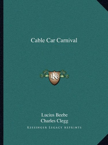 9781163806241: Cable Car Carnival