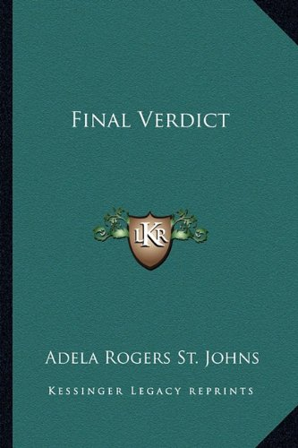 Final Verdict: St. Johns, Adela Rogers