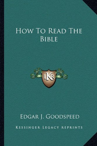 9781163809730: How To Read The Bible