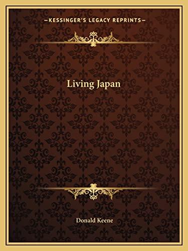 9781163810989: Living Japan