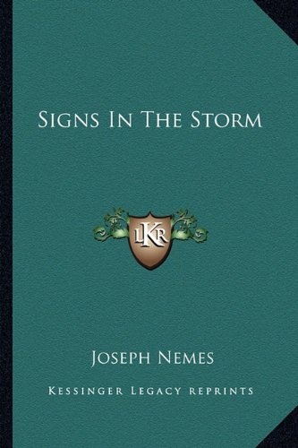 9781163814345: Signs In The Storm