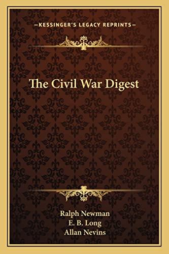 9781163816004: The Civil War Digest