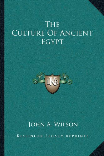 9781163816172: The Culture of Ancient Egypt