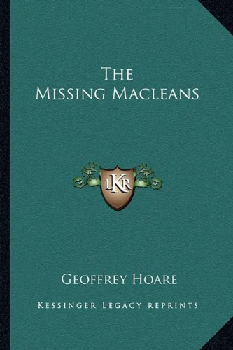 9781163817827: The Missing Macleans