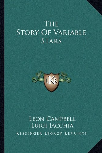 9781163819203: The Story Of Variable Stars