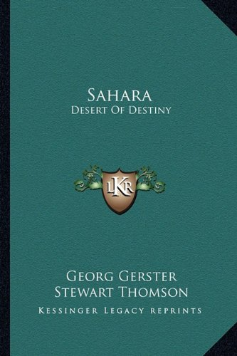 9781163824115: Sahara: Desert of Destiny