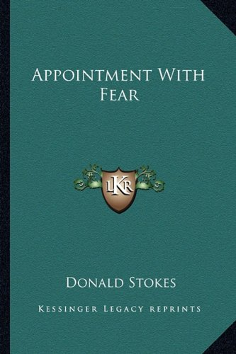 9781163826430: Appointment With Fear
