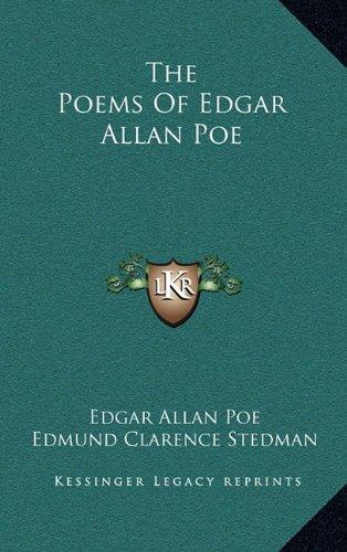 The Poems Of Edgar Allan Poe (1163850853) by Poe, Edgar Allan