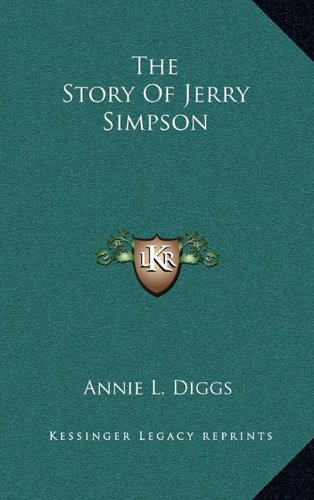 9781163851500: The Story Of Jerry Simpson