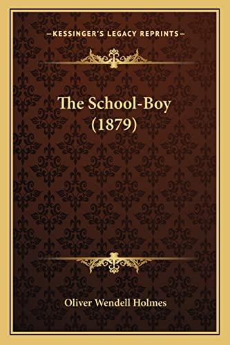 9781163882535: The School-Boy (1879)