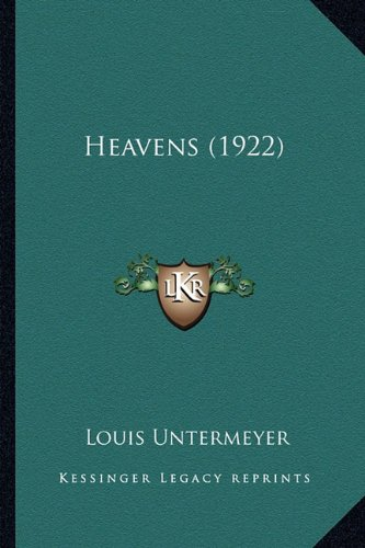 Heavens (1922) (1163891886) by Louis Untermeyer