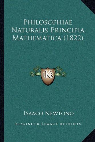 9781163939468: Philosophiae Naturalis Principia Mathematica (1822)