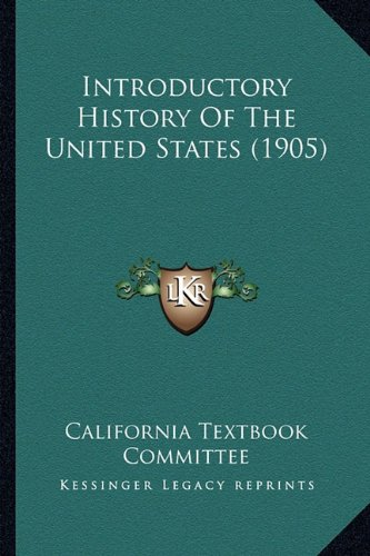 9781163984024: Introductory History Of The United States (1905)