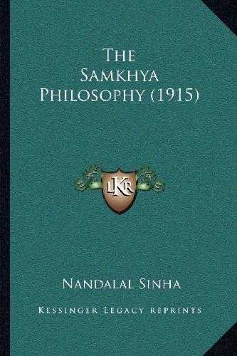 9781164013600: The Samkhya Philosophy (1915)