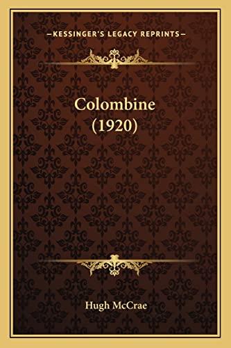 9781164081777: Colombine (1920)