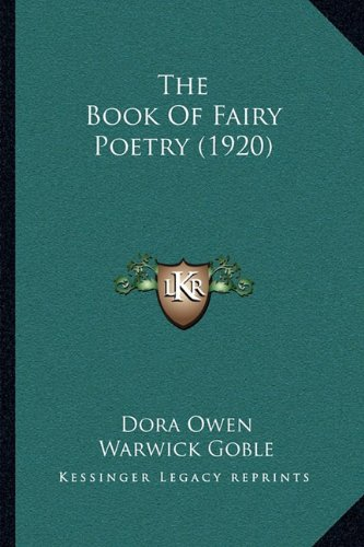 9781164123958: The Book of Fairy Poetry (1920)