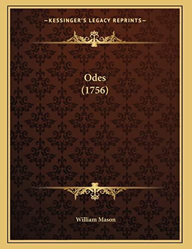 9781164143673: Odes (1756)