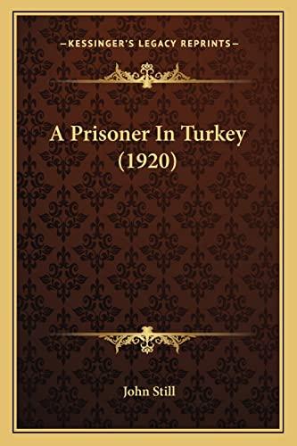 9781164172536: A Prisoner In Turkey (1920)
